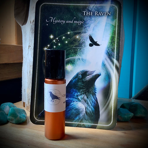Raven blend 10ml roll-on -CEDAR SAGE ROSE
