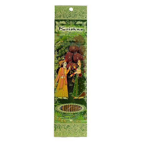 KRISHNA Vetiver Cedarwood Halamadi incense