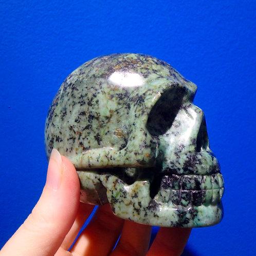 Turquoise Crystal Skull (large)