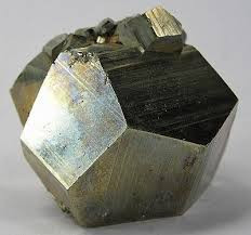 dodecahedral pyrite