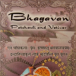 """PATCHOULI VETIVER """"Bhagavan"""" incense FREE SHIPPING"""