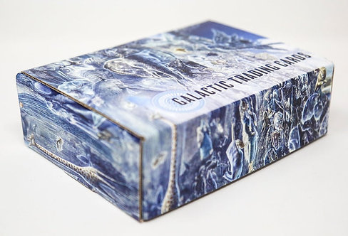 Galactic Trading Card Box of 100 cards 2020 set