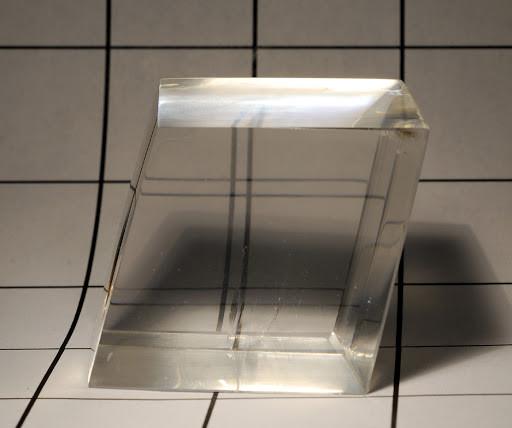 optical calcite birefringence