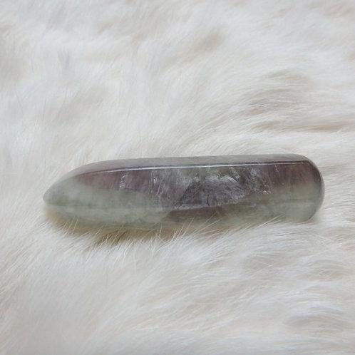 Fluorite polished wand