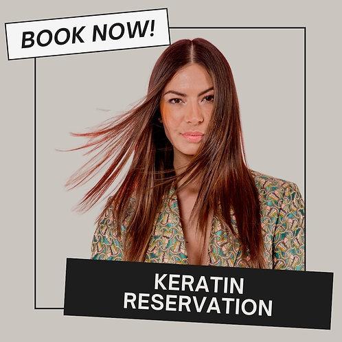 Keratin Reservation
