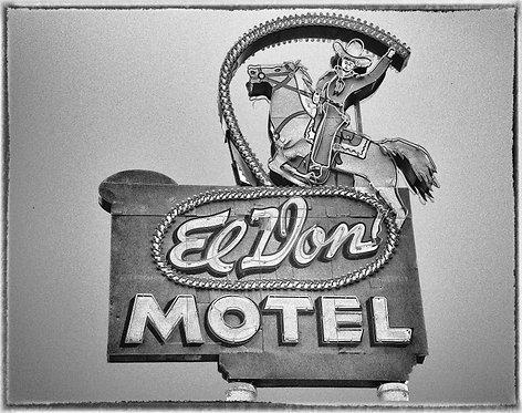 """El Don Motel"" Route 66, Albuquerque New Mexico - 2017"