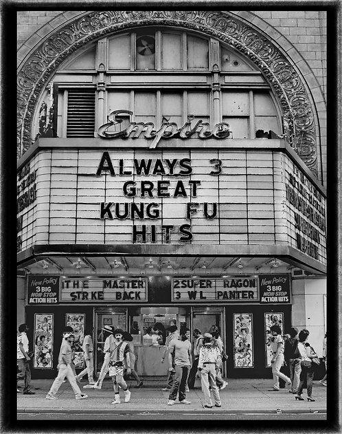"""Empire Theater"" - 1983 - Forty-Second Street, Manhattan, NY."