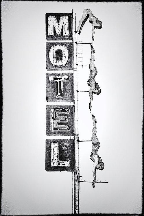 Starlight Motel - 1985 - Main Street, Mesa, AZ.
