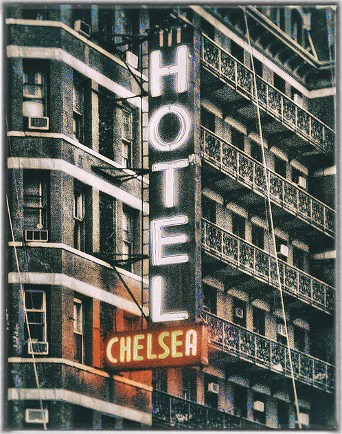 """Chelsea Hotel"" New York City, NY - 1980"