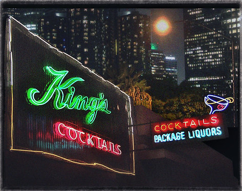 """King's Cocktails"" - 2008 - Downtown Los Angeles, CA."