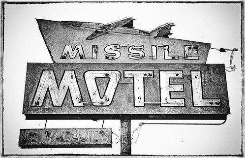 """The Missile Motel"" Oxnard, California - 1988"