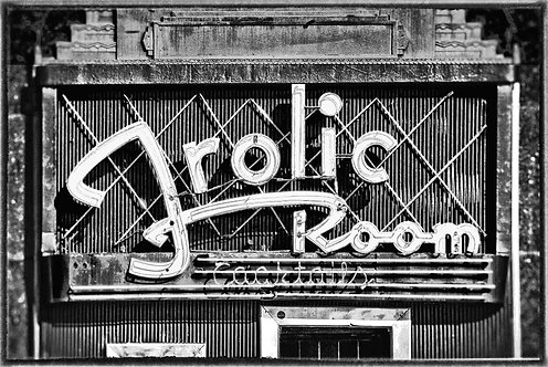 """Frolic Room"" - 1989 - Hollywood Blvd., Hollywood, CA."