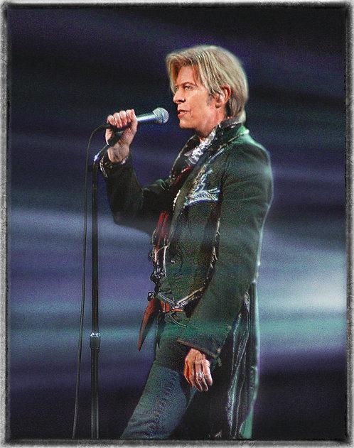 """David Bowie"" - 1994 - The Shrine Auditorium, Los Angeles, CA."