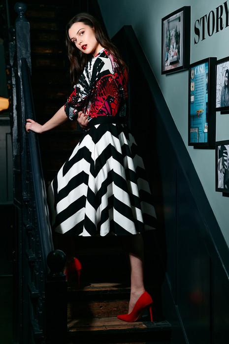 Atalier-Chevron-Stripe-Skirt-and-Zebra-S