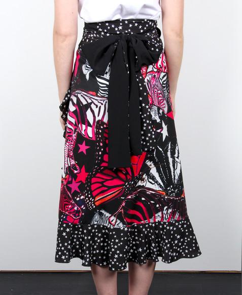Find-your-Zebra-Original-Print-Wrap-Skir