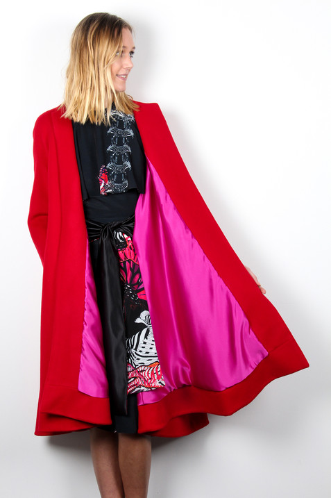 Red-Cashmere-Swing-Coat-with-Multiway-Sa