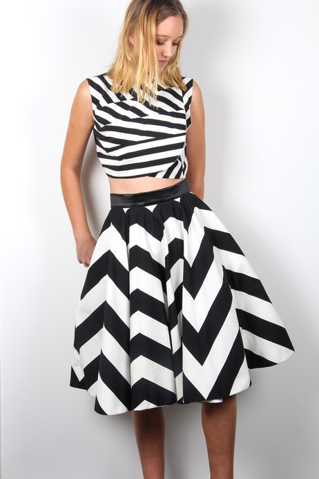 Chevron-Skirt-and-Stripe-pleat-top-Atali
