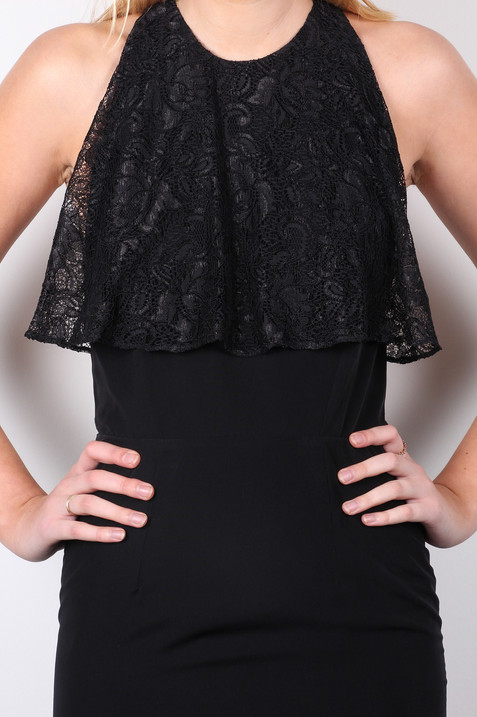 Black-lace-back-strappy-midi-dress-detai