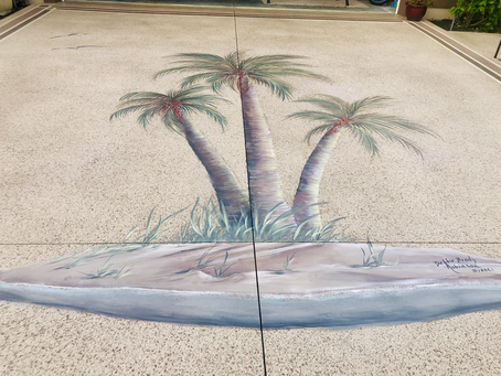 Driveway Mural Double the Size!