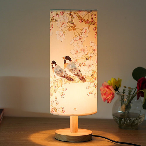 Two Birds Chinese Style Table Lamp