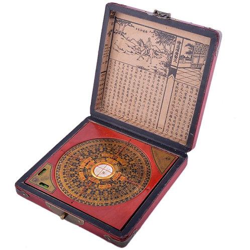 Chinese Feng Shui Dragon & Phoenix Compass Luo Pan Tool