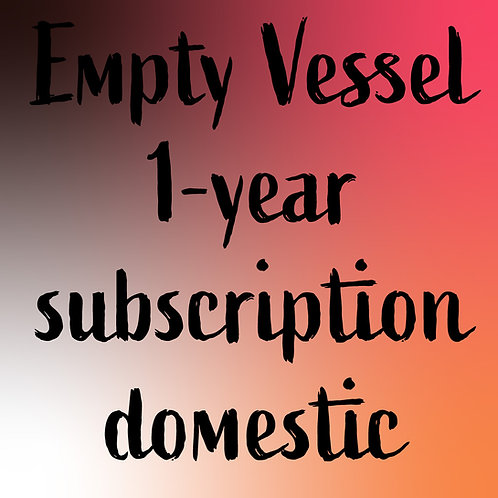 1-year subscription DOMESTIC US