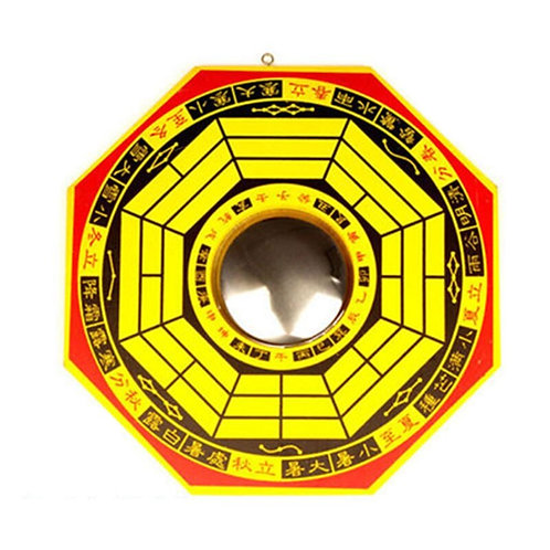 1pc Chinese Feng Shui Convex Bagua MirrorHouse Protection