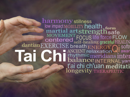 Tai chi can tip the scales of balance back in your favor