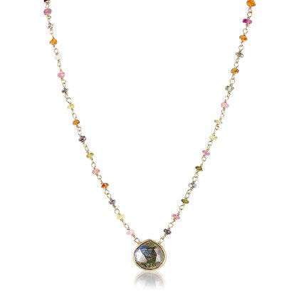 copy of Moonstone & Tourmaline Necklace