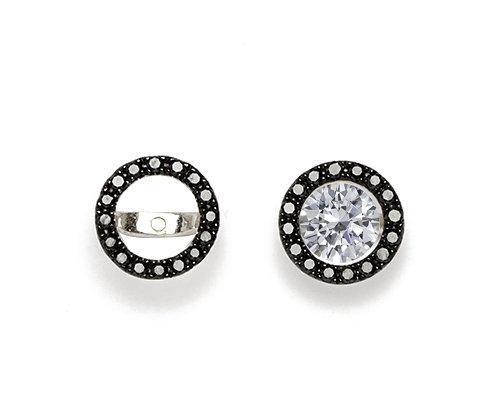 Add Pizzaz Diamond Earring Jackets