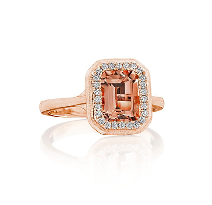 'Romance Me' Morganite Ring
