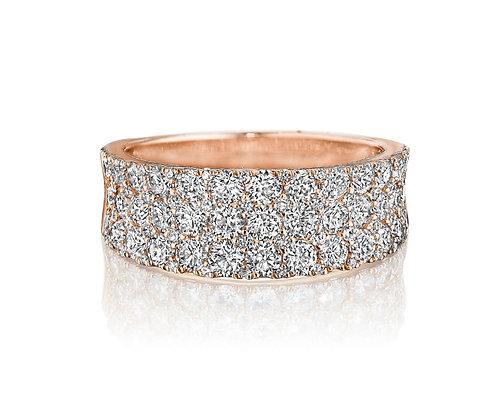 Concave Diamond Band