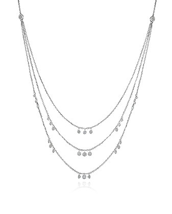 Layer me in Diamonds Necklace