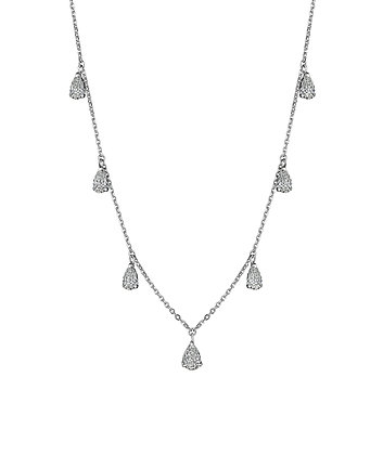 Bring Tears to Her Eyes Diamond Necklace