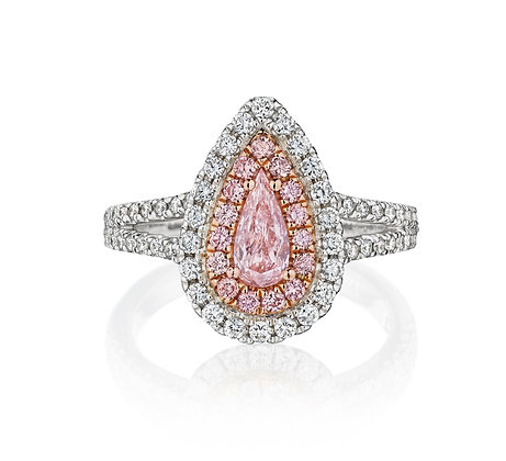 One-of-a-Kind Pink Diamond Ring