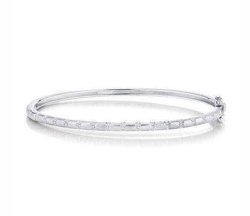 Satin & Sparkle Diamond Bracelet