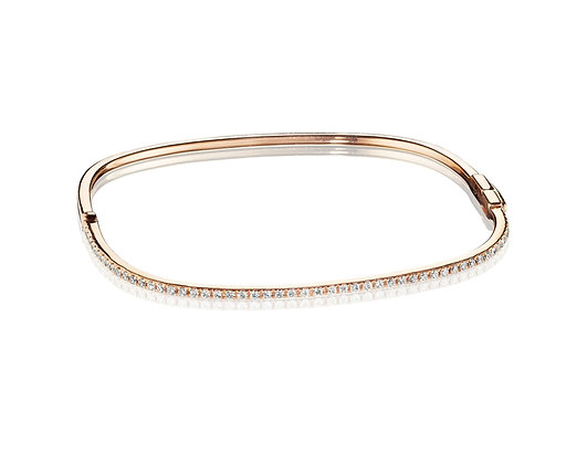 Awesome Squared Diamond Bangle