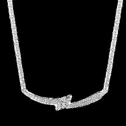 Raise the Style Bar Diamond Necklace