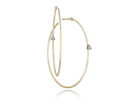 Giftable Diamond Hoops