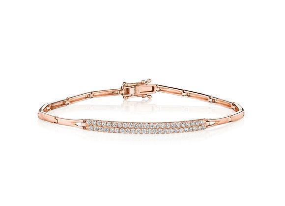 .75ctw Sleek Diamond Bracelet