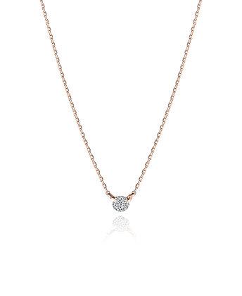 .10ct Diamond Solitaire Necklace