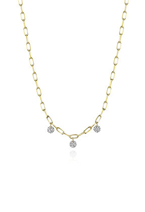 .30ctw Floating Diamond Necklace