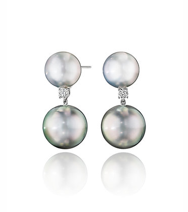 Tahitian & South Sea Pearl Earrings