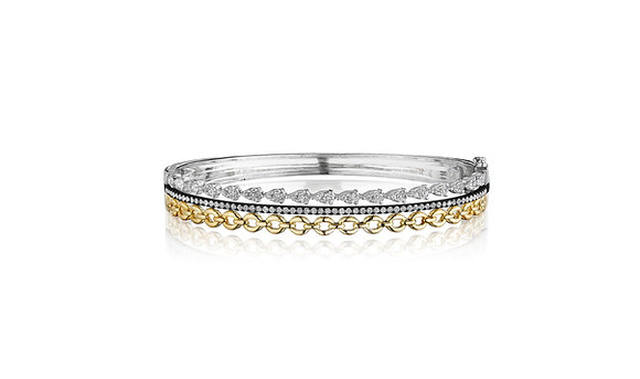 Exclusive Design Diamond Stack Bangle
