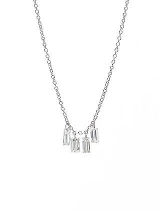 Must Have Baguette Diamond Necklace