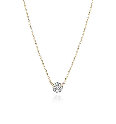 .30ct Diamond Solitaire Necklace