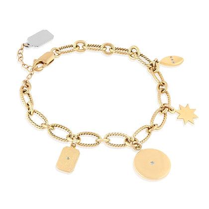 Charming Gold Plated Bracelet