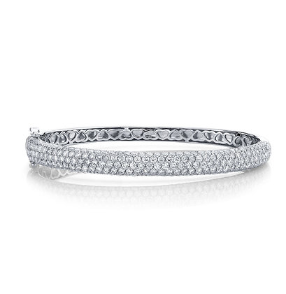 5.25ctw Diamond Bangle