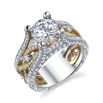 Work of Art Diamond Ring Setting