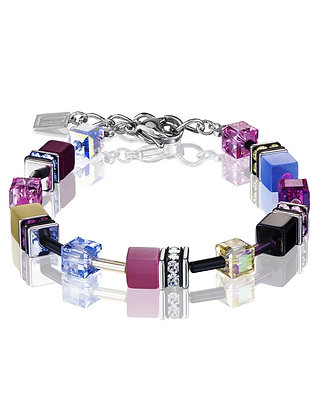 Colorful Geo Cube Bracelet